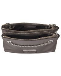 Marc By Marc Jacobs | Gray Too Hot To Handle Doubledecker Crossbody | Lyst