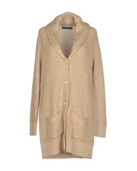Ralph Lauren - Natural Cardigan - Lyst