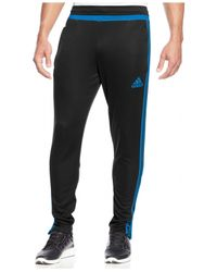 Adidas | Blue Tiro 15 Climacool® Training Joggers for Men | Lyst
