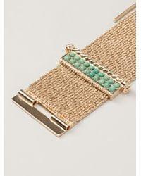 Aurelie Bidermann | Green 'palazzo' Bracelet | Lyst
