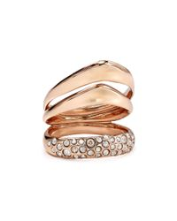 Alexis Bittar | Metallic Miss Havisham Crystal Encrusted Ring | Lyst