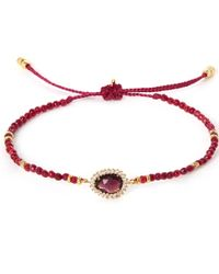 Tai | Red Starburst Beaded Bracelet | Lyst