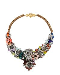 Shourouk | Brown Apolonia Fox Necklace | Lyst