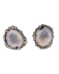 Kimberly Mcdonald | Metallic Geode Stud Earrings | Lyst