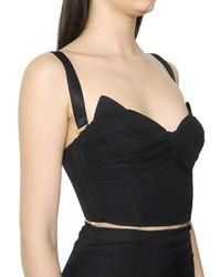 Maria Lucia Hohan - Black Stretch Silk Georgette Dress - Lyst