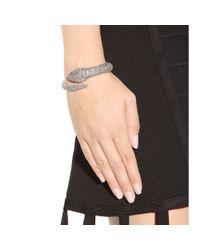 Roberto Cavalli | Metallic Serpent Bracelet | Lyst