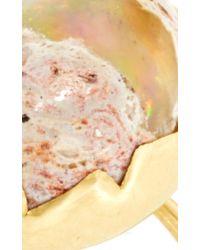 Annette Ferdinandsen - Metallic Opal Egg Ring - Lyst