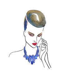 EK Thongprasert - Blue Pas De Chat Necklace - Lyst