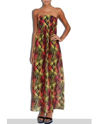 MILLY | Multicolor Cabana Palm Print Vedetta Smock Dress | Lyst