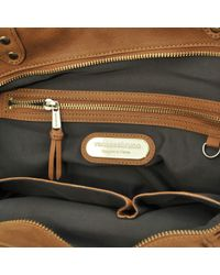 Vanessa Bruno | Brown Lune Shoulder Bag | Lyst