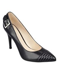 Nine West | Black Firedup Pointy Toe Pumps | Lyst
