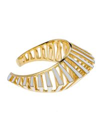 Noir Jewelry | Metallic Gasparee Cuff | Lyst