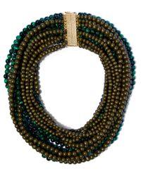 Rosantica - Green Vulcano Necklace - Lyst