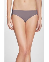 Natori | Metallic 'bliss Fit' Bikini | Lyst