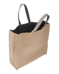 Brunello Cucinelli - Natural Handbag - Lyst