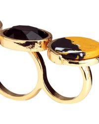 H&M | Metallic Wide Ring | Lyst