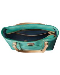 Dooney & Bourke - Green Patent Small Lexington Shopper - Lyst