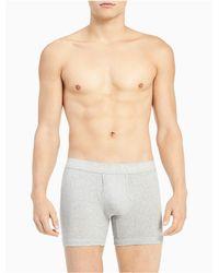 Calvin Klein - Gray Body Boxer Brief for Men - Lyst