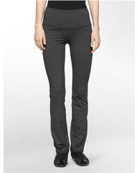 Calvin Klein   Gray Performance Compression Waist Pants   Lyst