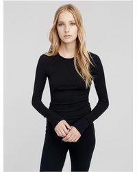Calvin Klein | Black Collection Stretch Cashmere Crew Neck Sweater | Lyst