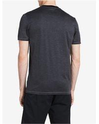 CALVIN KLEIN 205W39NYC - Gray Premium Slim Fit Colorblock T-shirt for Men - Lyst