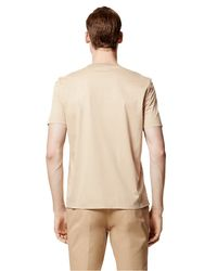 Calvin Klein - Natural Collection Bonded Jersey Crew Neck for Men - Lyst