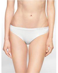Calvin Klein   White Underwear Pure Seamless Bikini   Lyst