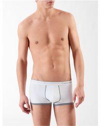 Calvin Klein | White Underwear Ck One Micro Low Rise Trunk for Men | Lyst