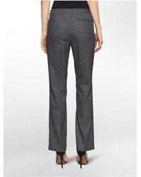 Calvin Klein - Black Micro Birds-eye Modern Pants - Lyst