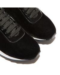 Casadei - Black Sneakers - Lyst