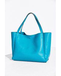 Silence + Noise - Blue Modern Tote Bag - Lyst