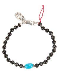 Aaron Jah Stone - Black New Mandalay Bracelet - Lyst
