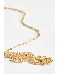c.A.K.e. By Ali Khan - Metallic I Filagree Completely Necklace - Lyst