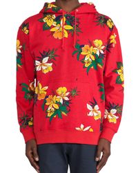 Obey | Red Aloha Pullover for Men | Lyst