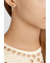 Rosantica - Metallic Gold-Dipped Pearl Ear Cuff - Lyst