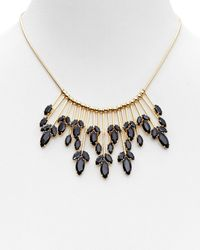 """kate spade new york - Black Care To Dance Spray Necklace, 17"""" - Lyst"""