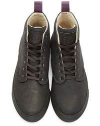 Eytys | Black Nubuck Odyssey High-top Sneakers for Men | Lyst
