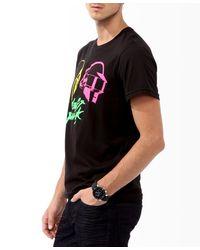 Forever 21 - Black Neon Daft Punk Tee for Men - Lyst
