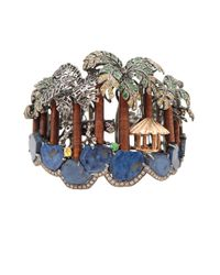 Wendy Yue | Metallic Jungle Cuff Bracelet | Lyst
