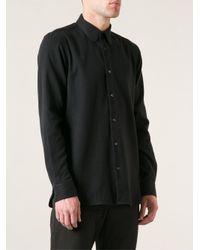 Ann Demeulemeester - Black Truth Shirt for Men - Lyst