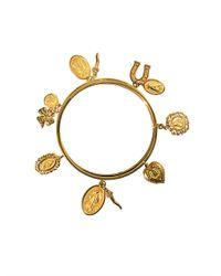 Dolce & Gabbana | Metallic Lazy Charm Bracelet | Lyst