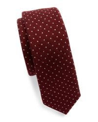 Original Penguin | Purple Dotted Tie for Men | Lyst