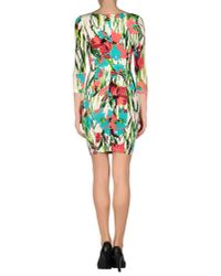 Blumarine - White Short Dress - Lyst