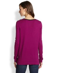Tibi - Red Easy Honeycomb Pattern Sweater - Lyst