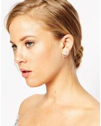 ASOS | White Limited Edition Pearl Spear Swing Earrings | Lyst