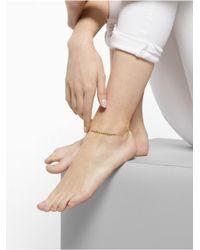 BaubleBar - Metallic Golddigger Anklet - Lyst