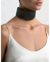 Zimmermann | Black Filigree Collar | Lyst