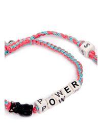 Venessa Arizaga - Pink 'cat Power' Bracelet - Lyst