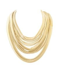 Kendra Scott | Metallic Wylie Necklace, Gold | Lyst