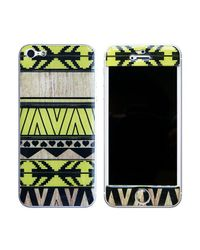 Blissfulcase - Green Aztec 3d Gel Skin Lemon For Iphone 5 - Lyst